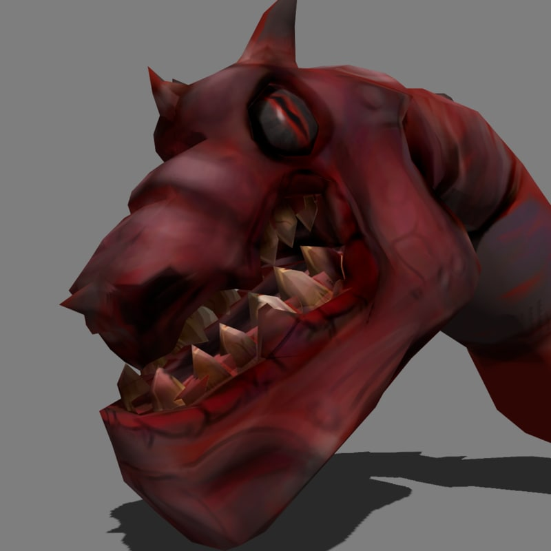 3d model monster animations dragon