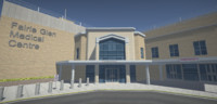 3ds max building medical centre