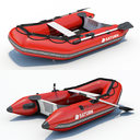 Inflatable Boat 01
