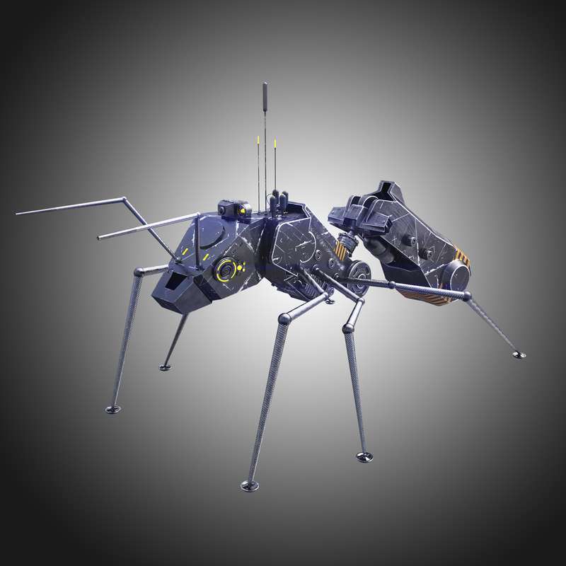 nano ant 3d model