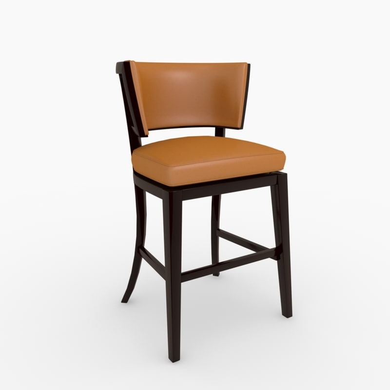 3ds max rudin 780 bar stools