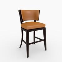 3ds max rudin 780 bar stools