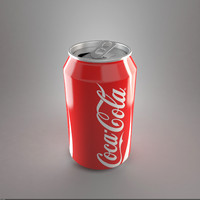 3d coca cola model