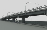 city highway overpass