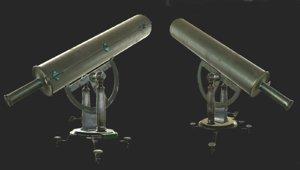 samuel william telescope 3d max