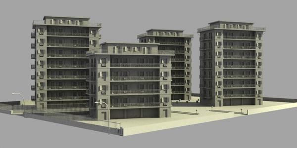 obj city block 1