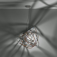 3ds max light terzani doodle pendant