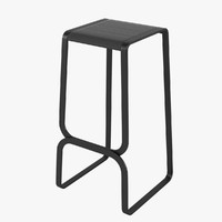 continuum barstool 3d model
