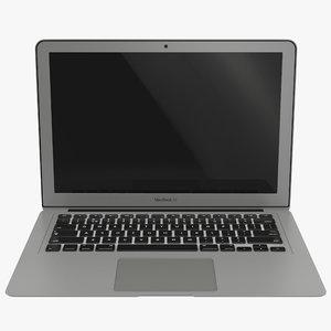 3d macbook air 13 inch model