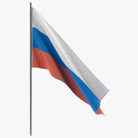 russian flag 3ds