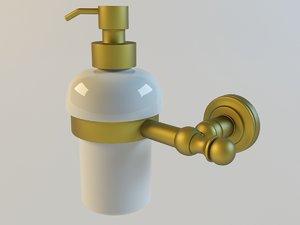 soap dispencer 3d model