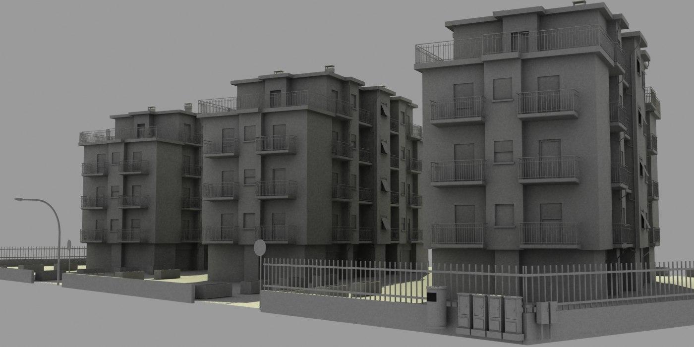 3d city block 3
