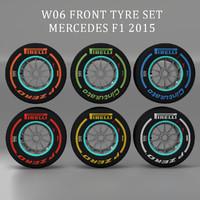 3d c4d pirelli tyre w06