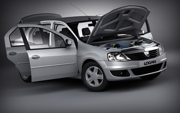 car v-ray 3d 3ds