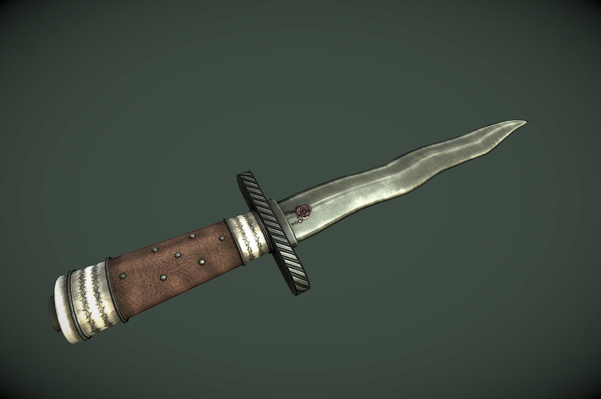 fantasy dagger 3ds