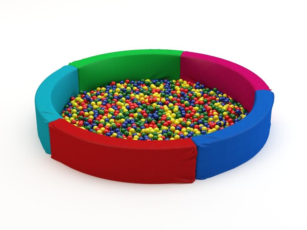 dry pool obj