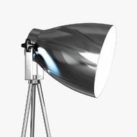 3d a8606pn-1cc lamp arte studio model