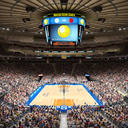 MSG Basketball Arena with Animated Audience