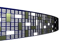 louvers Curtain wall modern