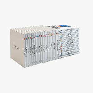 mr men books 3d model