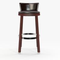 3d model tonon bar chair