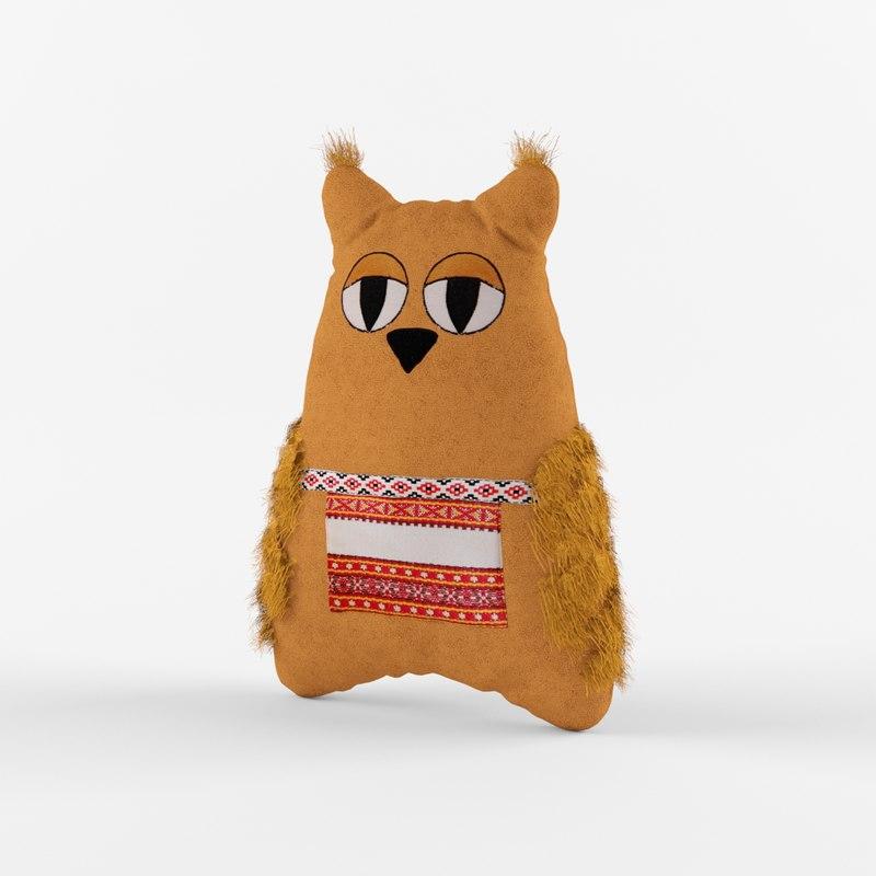 owl 3d max