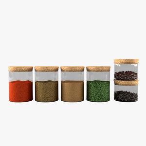 spice jar set max