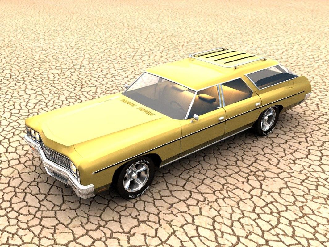 max 1973 chevrolet impala wagon