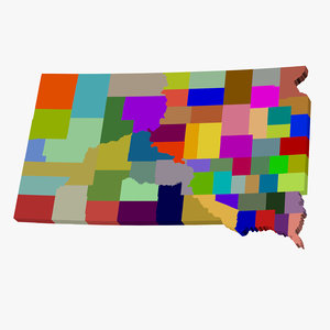 3d counties south dakota