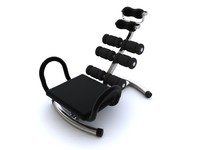 3ds max exercise equipment