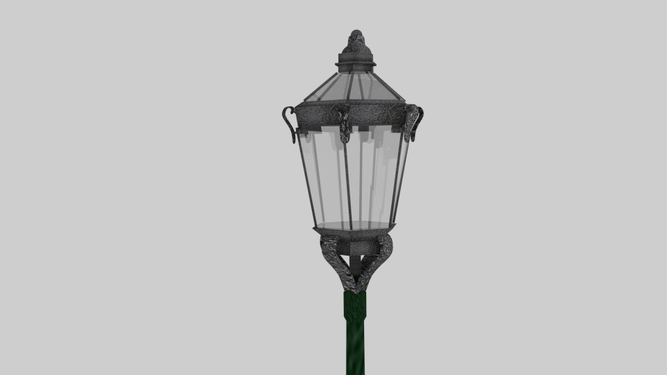 3ds light pole