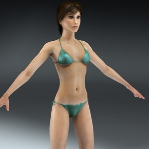 female anatomy 3d 3ds