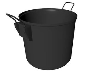 3d cooking pot