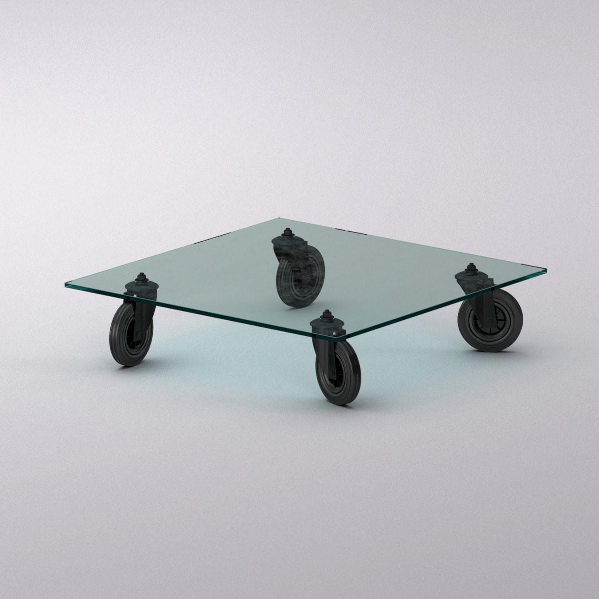 model fontanaarte tavolo ruote table