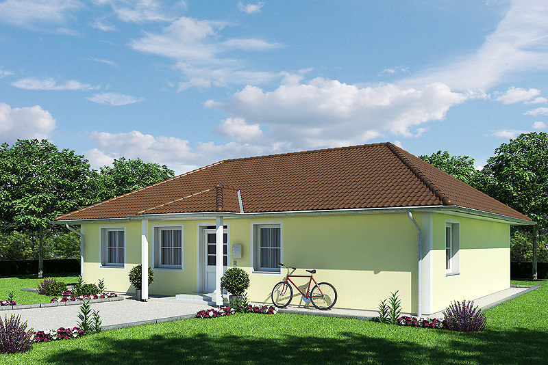 photoreal house grass max