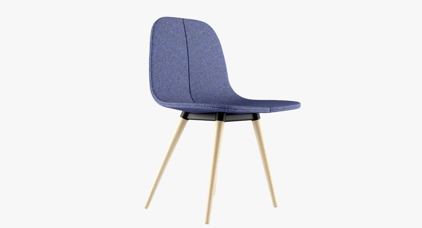 3d model of offecct duo chair
