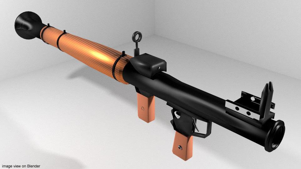 rocket launcher rpg 3d 3ds