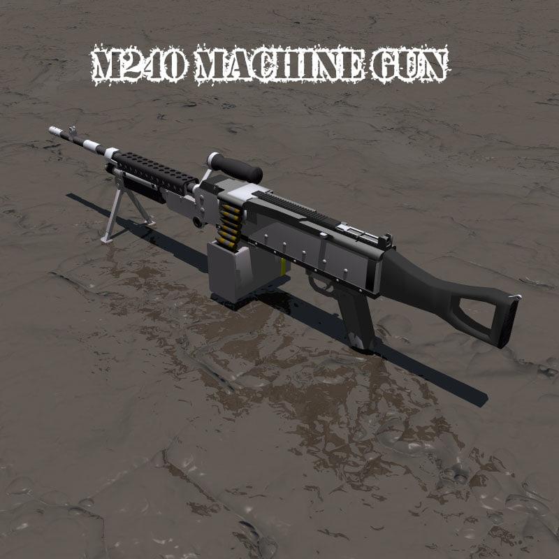 3ds m240 machine gun