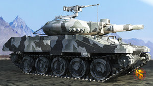 3d m-551 sheridan