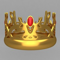 crown king ornaments 20