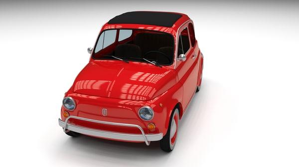 obj 1968 fiat 500l luxe