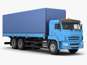 truck automobile 3d max