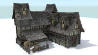 Medieval Town House 5