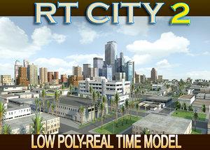 3d city street los angeles model