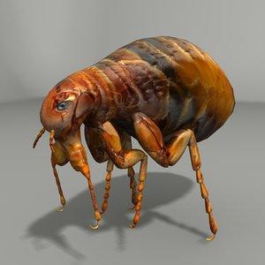 flea 3d 3ds