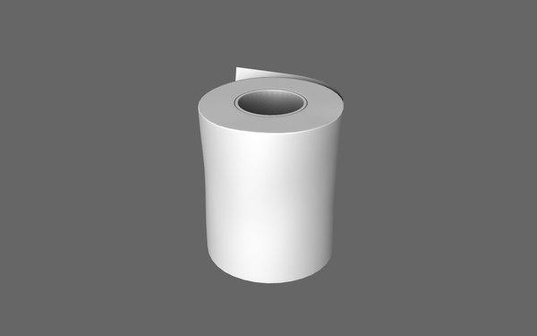 free paper polygonal 3d model