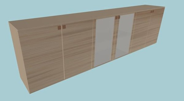 kitchen cabinet unit 3d model