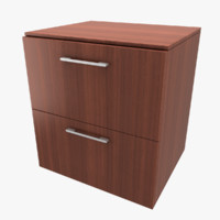 ikea godmorgon sink cabinet 3d 3ds