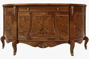 decorative crafts cabinet 1253 3d model