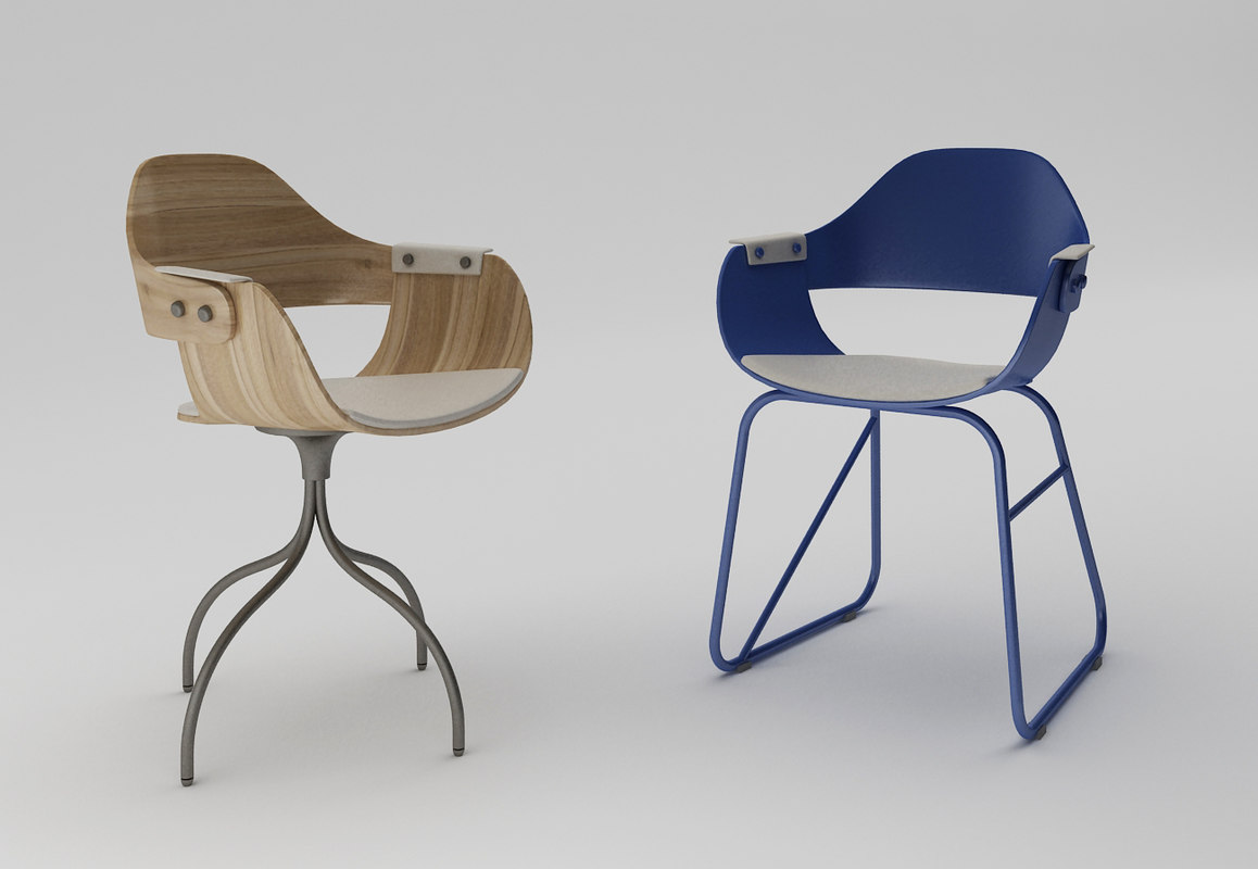 bdbarcelona showtime chair materials 3ds
